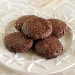 Σοκολατένια μπισκότα κατσαρόλας… έτοιμα μέχρι να πούμε φυστικοβούτυρο!