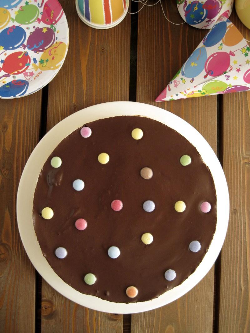 Η πιο εύκολη τούρτα γενεθλίων