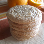 Μπισκότα με πορτοκάλι και λευκή σοκολάτα…