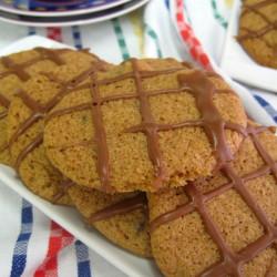 Μπισκότα μόκας με φουντούκι
