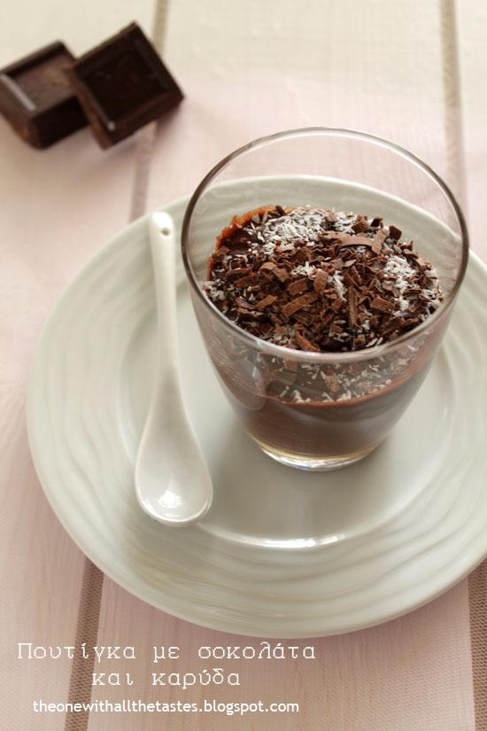 Chocolate-coconut-pudding