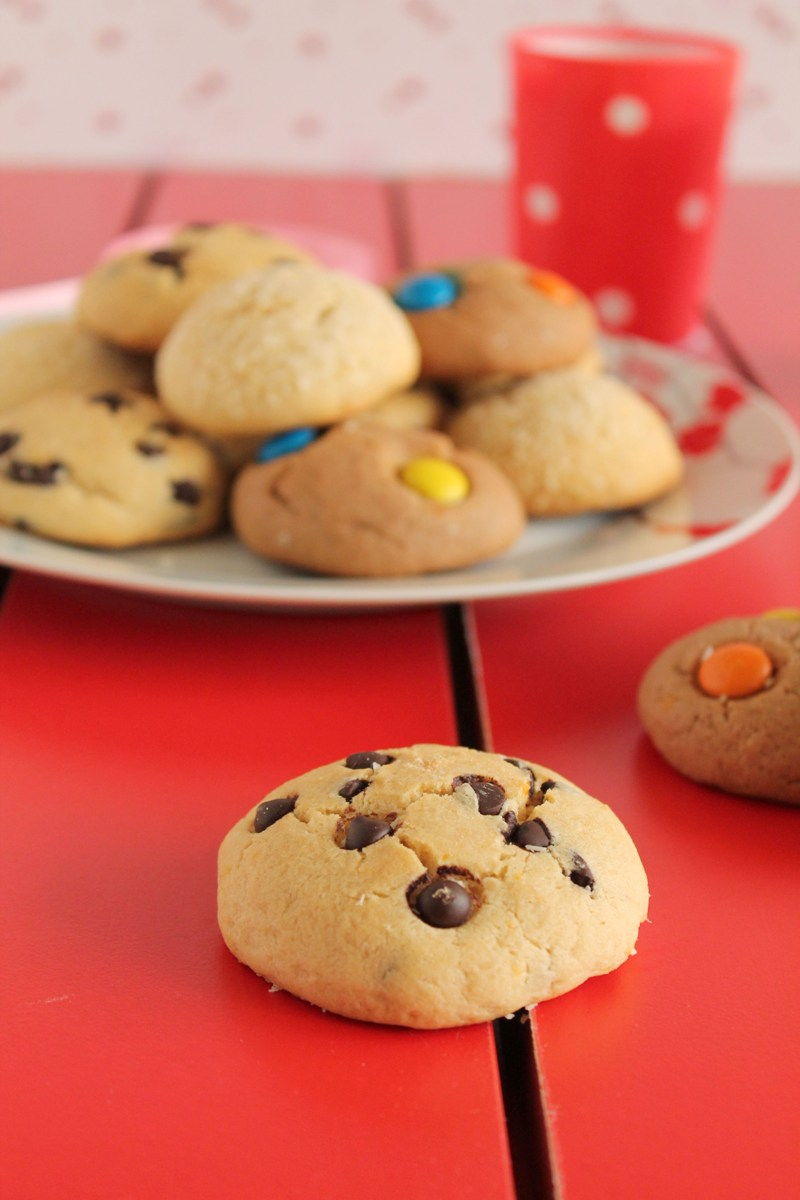 Μπισκότα με 3 υλικά