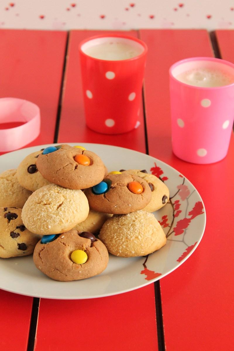 μπισκότα-με-3-υλικά