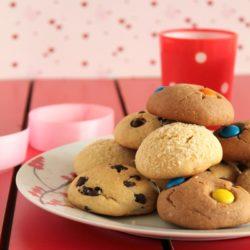 Μπισκότα με 3 υλικά (και αμέτρητες παραλλαγές)...