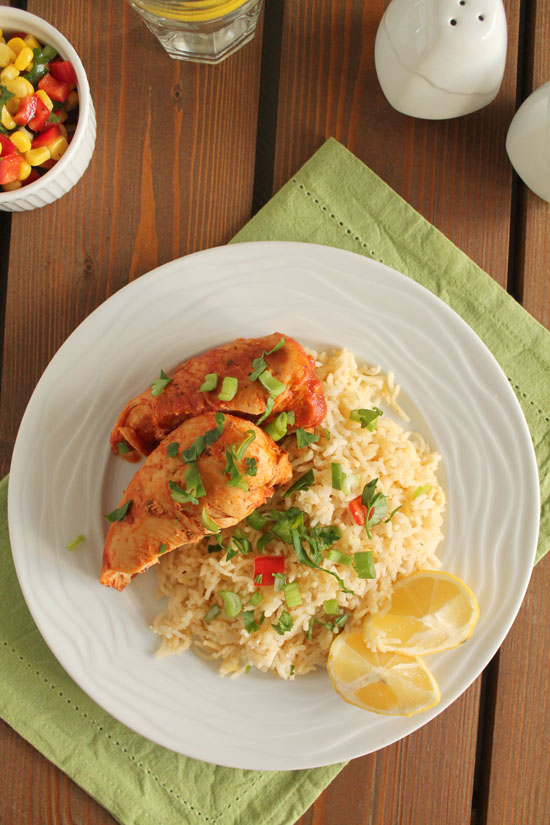Paprika-chicken-mexican-rice
