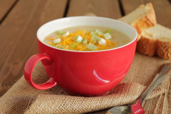 Creamy-potato-soup