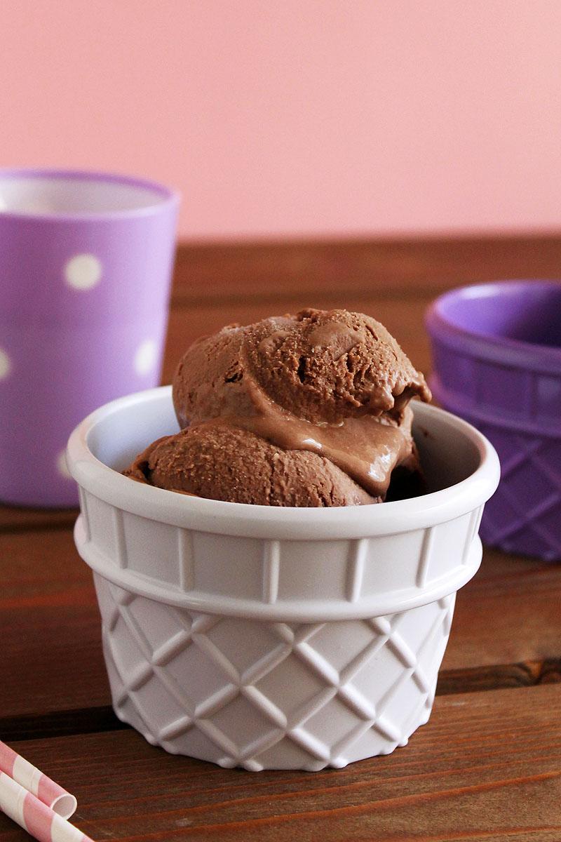 παγωτό μπανάνα-nutella