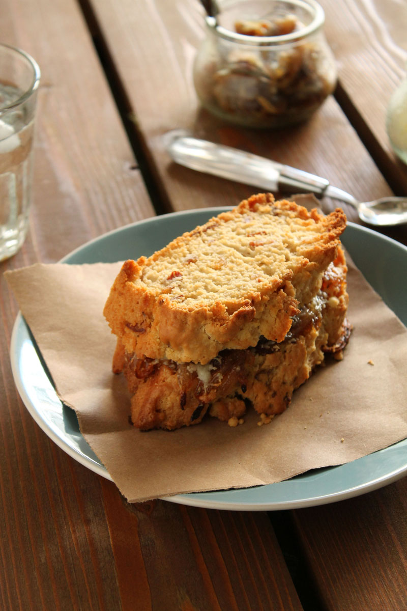 Bacon-beer-bread