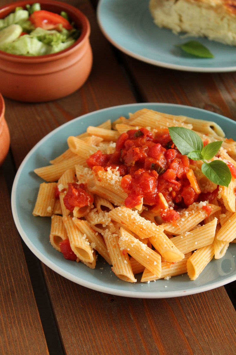 Cheese-pie-and-tomato-penne (5)