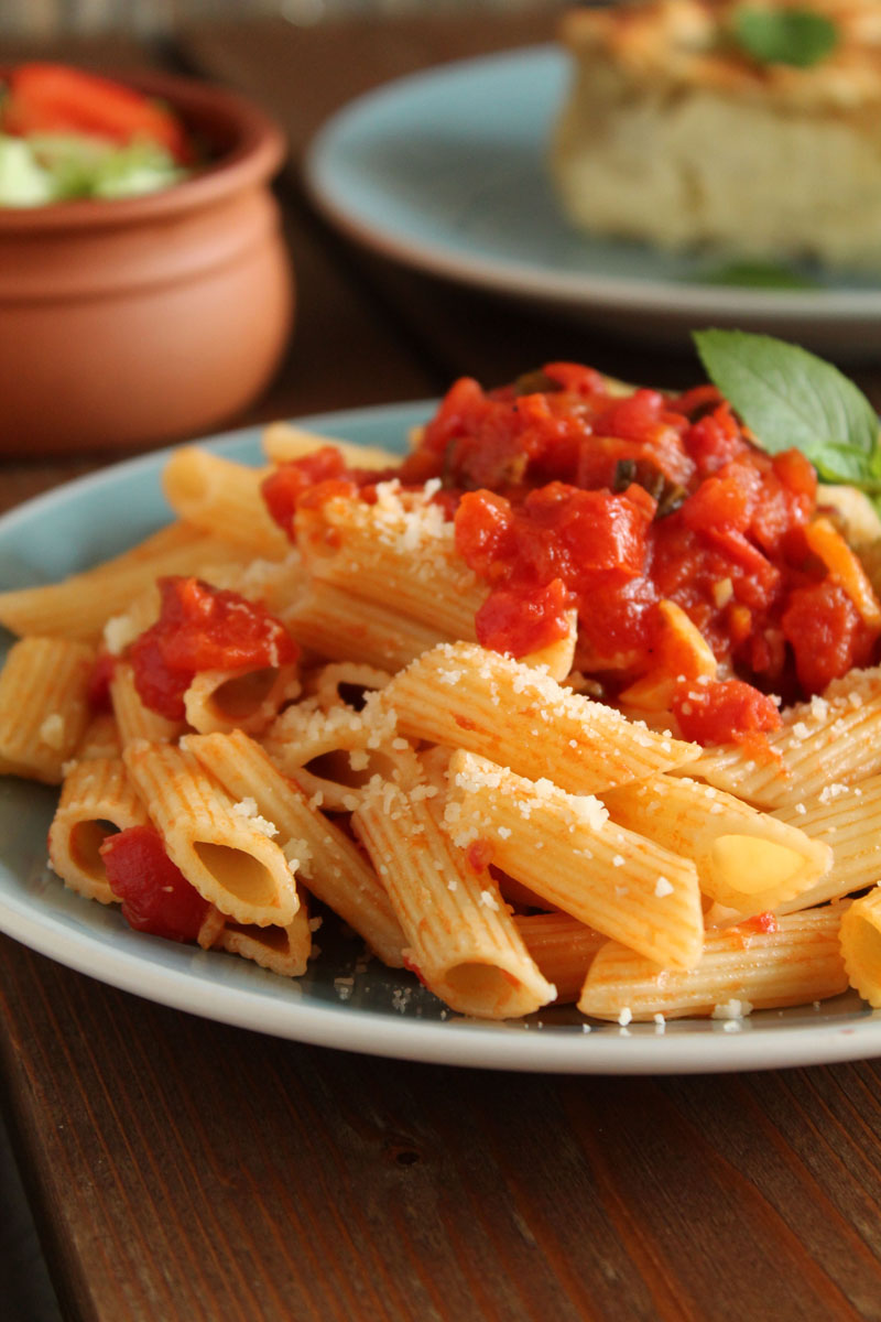 Cheese-pie-and-tomato-penne (6)