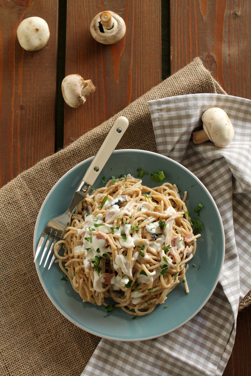 Cream-cheese-bacon-mushroom-spaghetti (4)