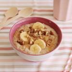 Εύκολο πρωινό με βρώμη και μπανάνα