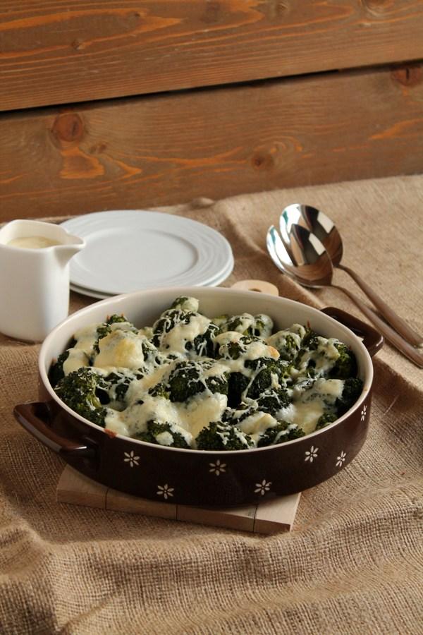 Στην κουζίνα των γεύσεων: Γκρατέν με μπρόκολο