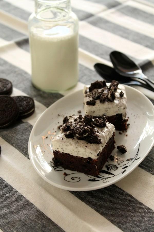 Στην κουζίνα των γεύσεων: Cookies and cream brownies