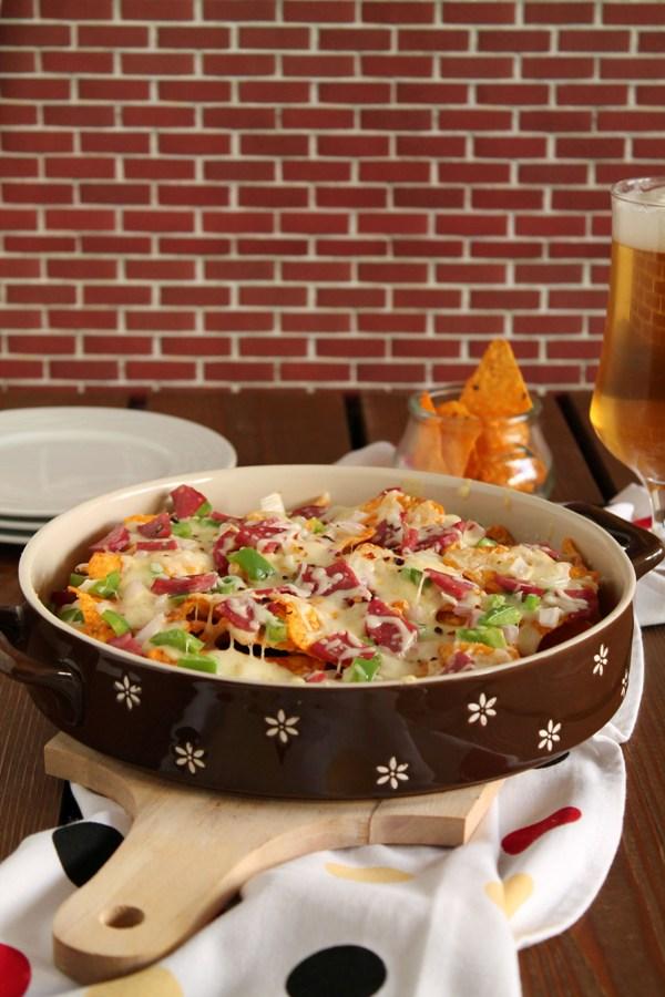 Στην κουζίνα των γεύσεων: Pizza nachos