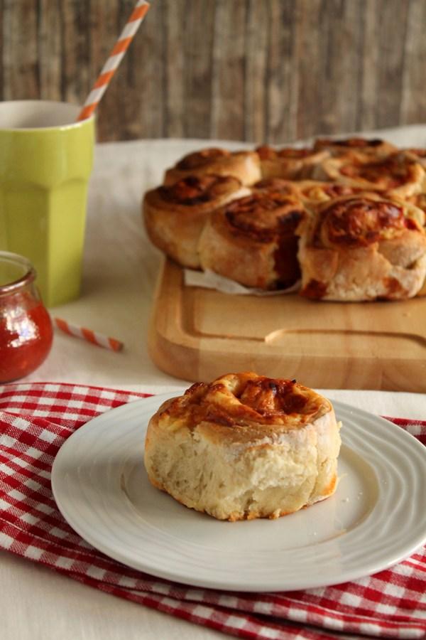 Στην κουζίνα των γεύσεων: Ρολάκια πίτσας