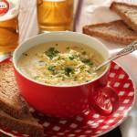 Σούπα με καρότο, τσένταρ και Amstel