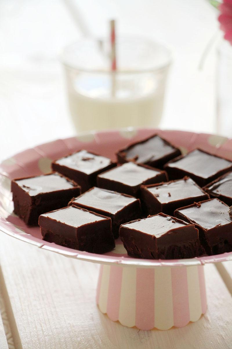 Fudge με nutella (3 υλικά)