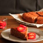 Κέικ με ταχίνι (νηστίσιμο)