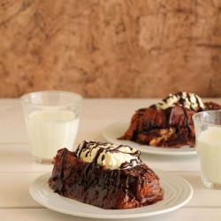 Γλυκό σοκολατένιο τοστ