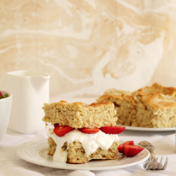 Τα Strawberry shortcakes και το High tea