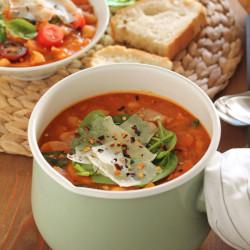 Ribolitta – Σούπα με λευκά φασόλια από τη...