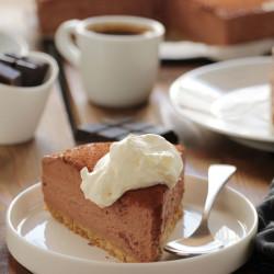 Cheesecake με σοκολάτα και εσπρέσο...