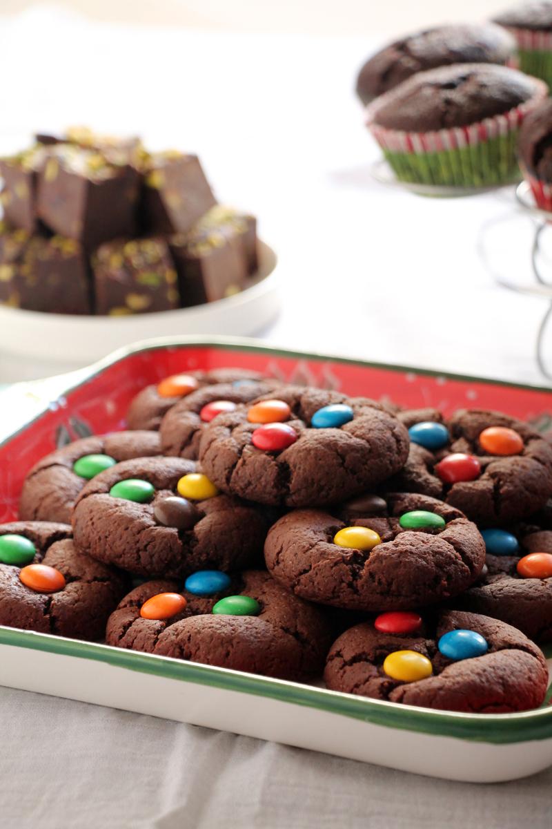 γιορτινός μπουφές γλυκών