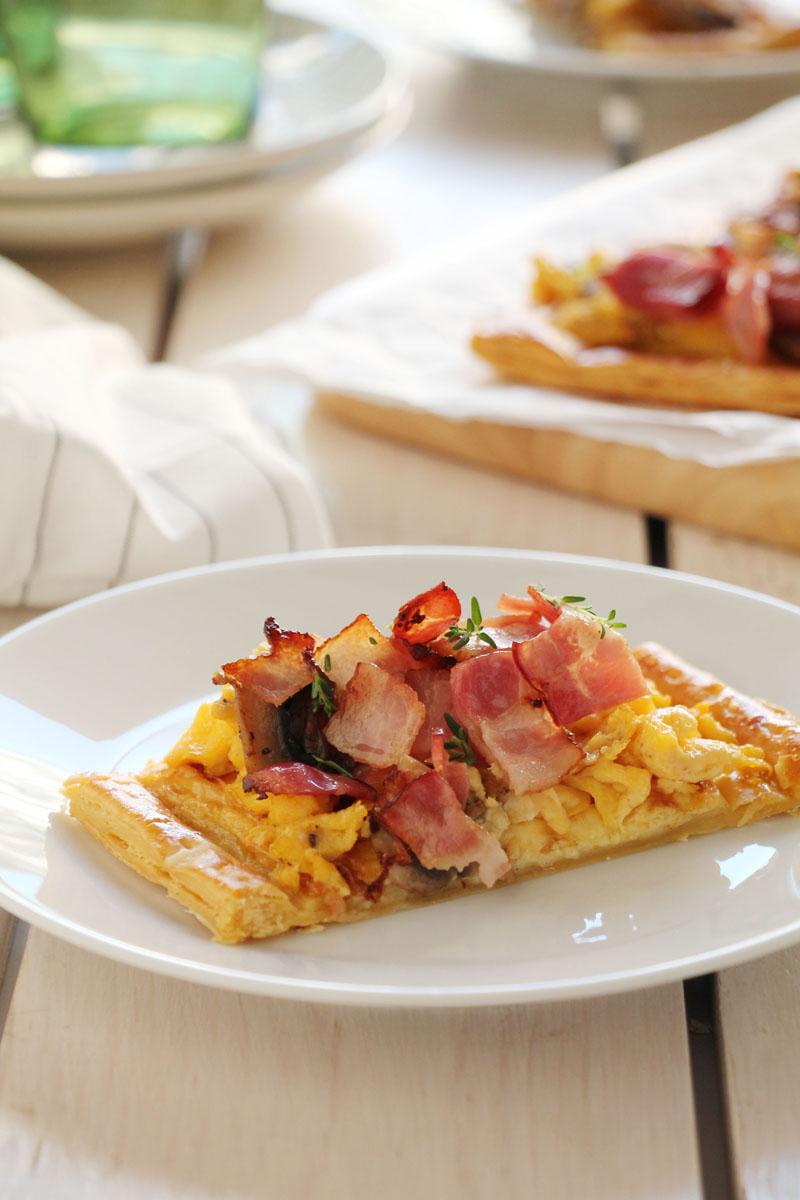 egg-mushroom-bacon-quiche