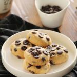 Μπισκότα βουτύρου με βρώμη και σοκολάτα