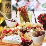 Γιορτινό πλατό με τυριά