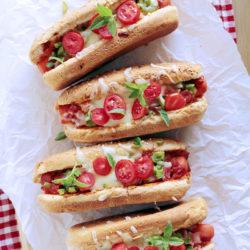 Πίτσα hot dog