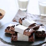 Σοκολατένιες μπάρες δημητριακών με φυστικοβούτυρο