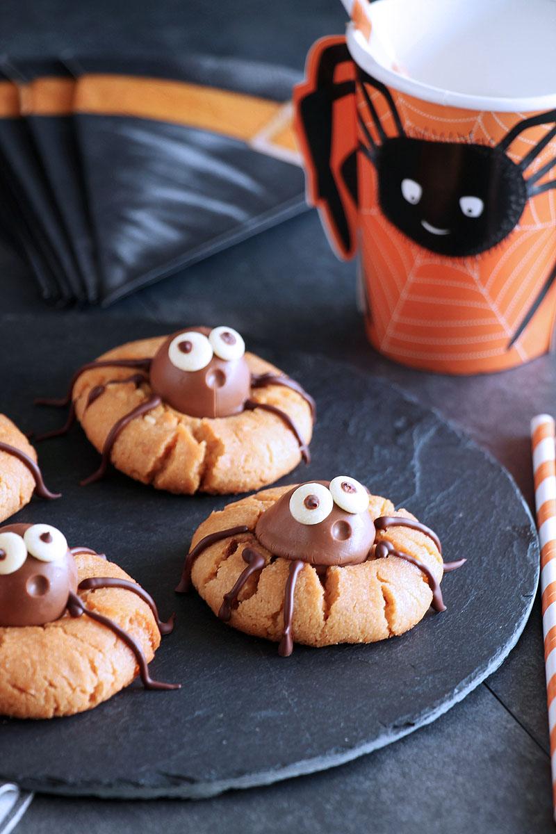 μπισκότα-αράχνες