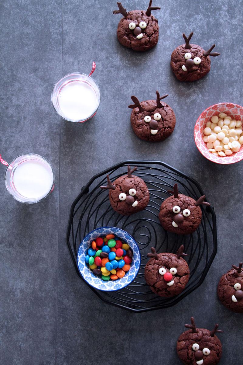σοκολατένια-μπισκότα-τάρανδοι