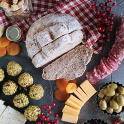 Xmas tastes 2017: Ψωμί με καρύδια & giveaway το βιβλίο Πεντανόστιμα ψωμιά