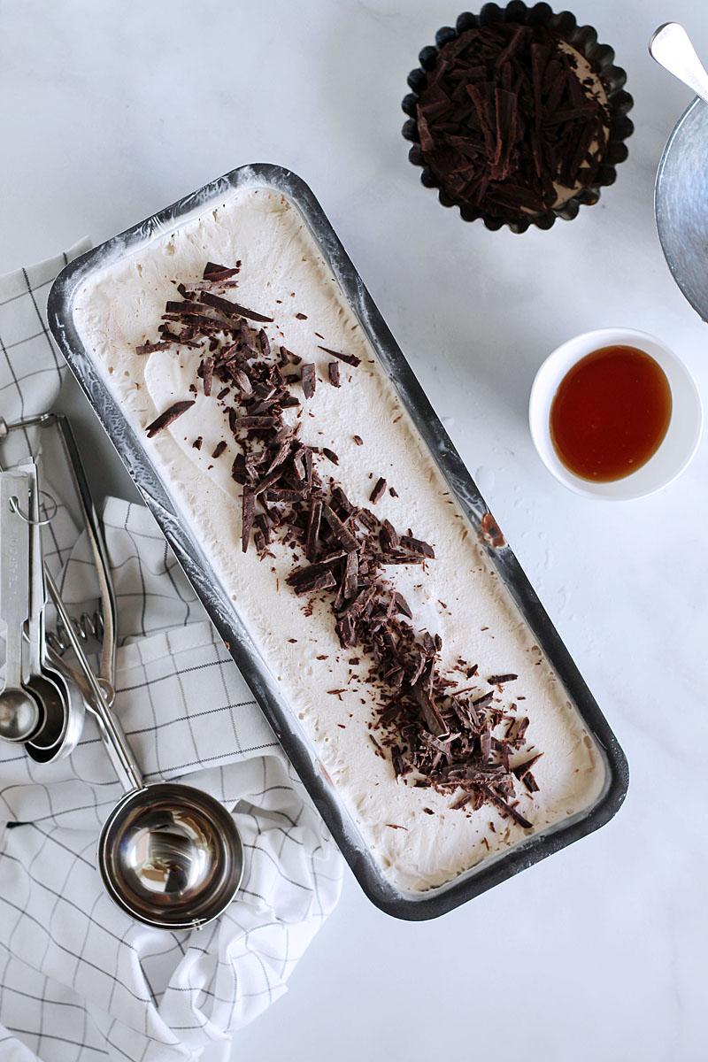 Παγωτό φυστικοβούτυρο με σοκολάτα