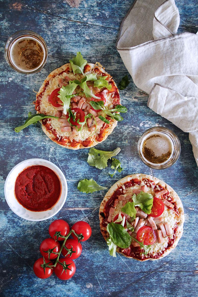 η πιο εύκολη σάλτσα για πίτσα