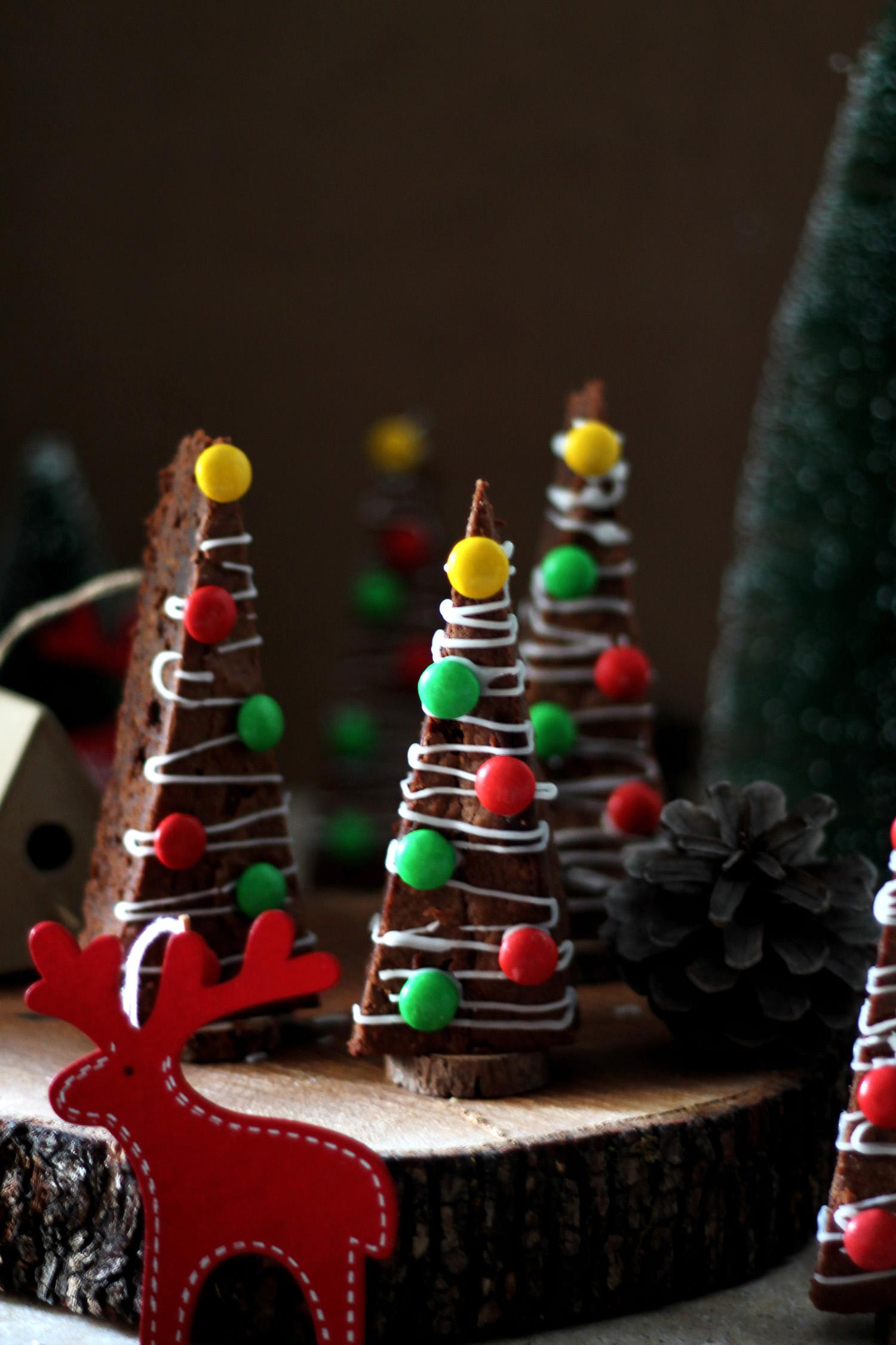 Brownies δεντράκια