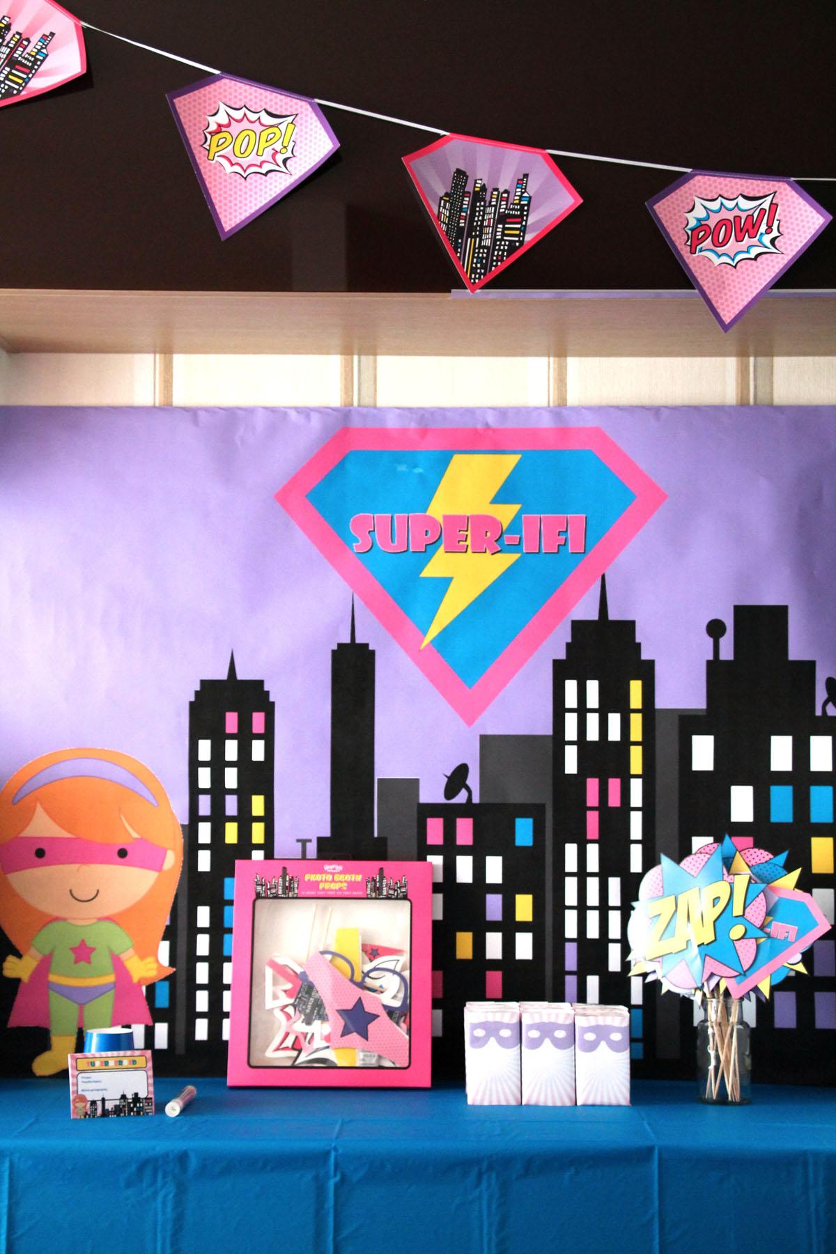 superhero πάρτι